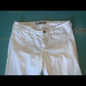 Hollister White Skinny Jeans